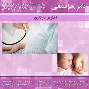 استرس-بارداری